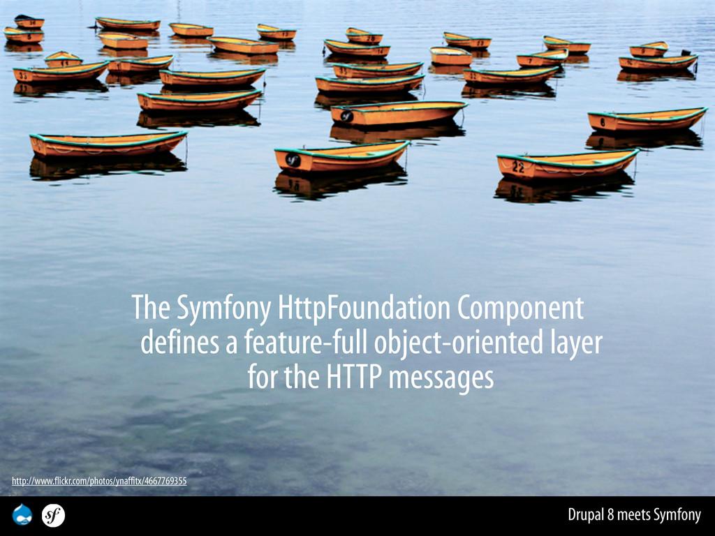 Drupal 8 meets Symfony The Symfony HttpFoundati...