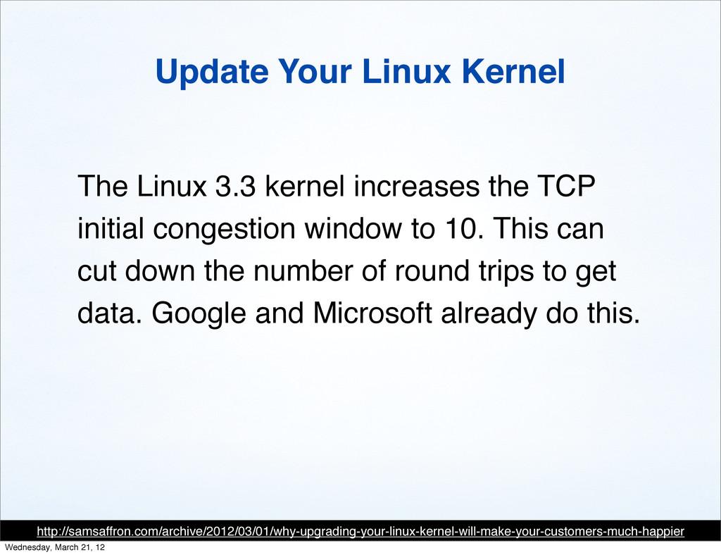 Update Your Linux Kernel http://samsaffron.com/...