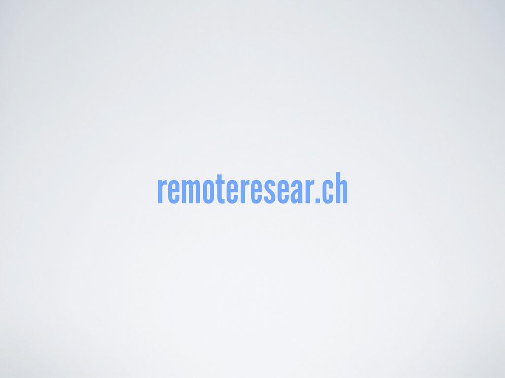 remoteresear.ch