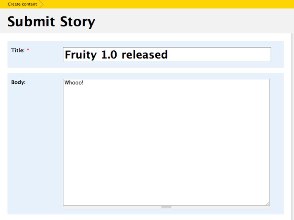 """XXX screenshot: """"content"""" box"""