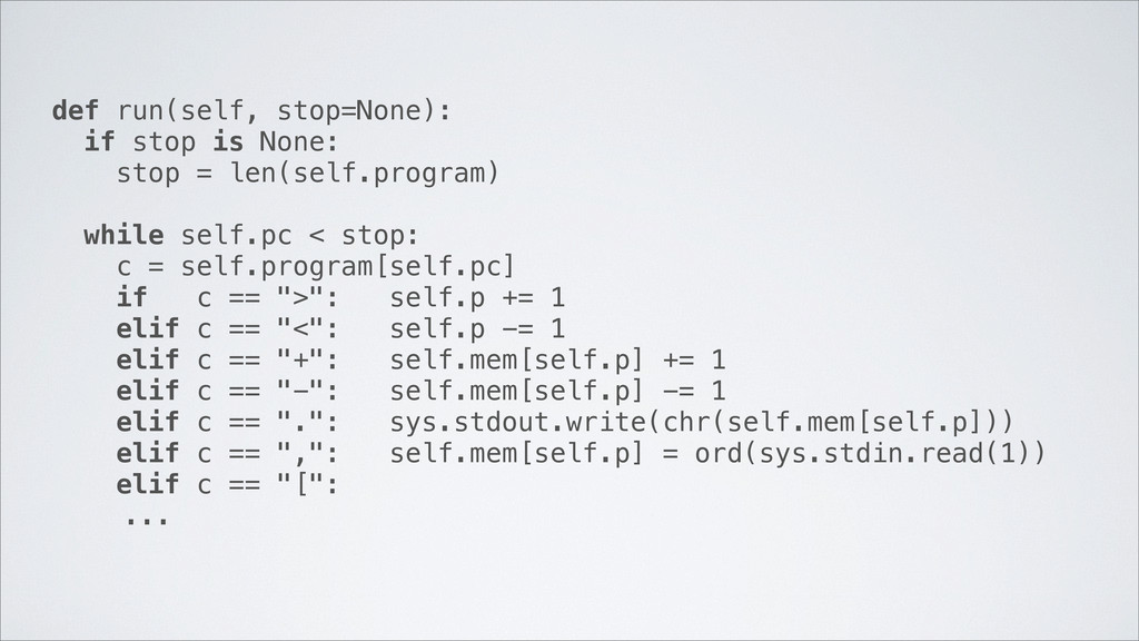def run(self, stop=None): if stop is None: stop...
