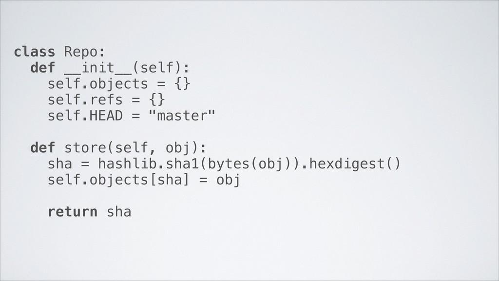 class Repo: def __init__(self): self.objects = ...