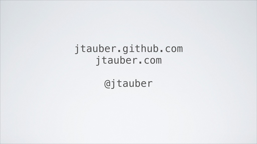 jtauber.github.com jtauber.com @jtauber