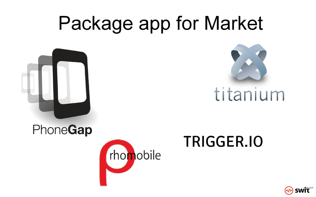 Package app for Market TRIGGER.IO