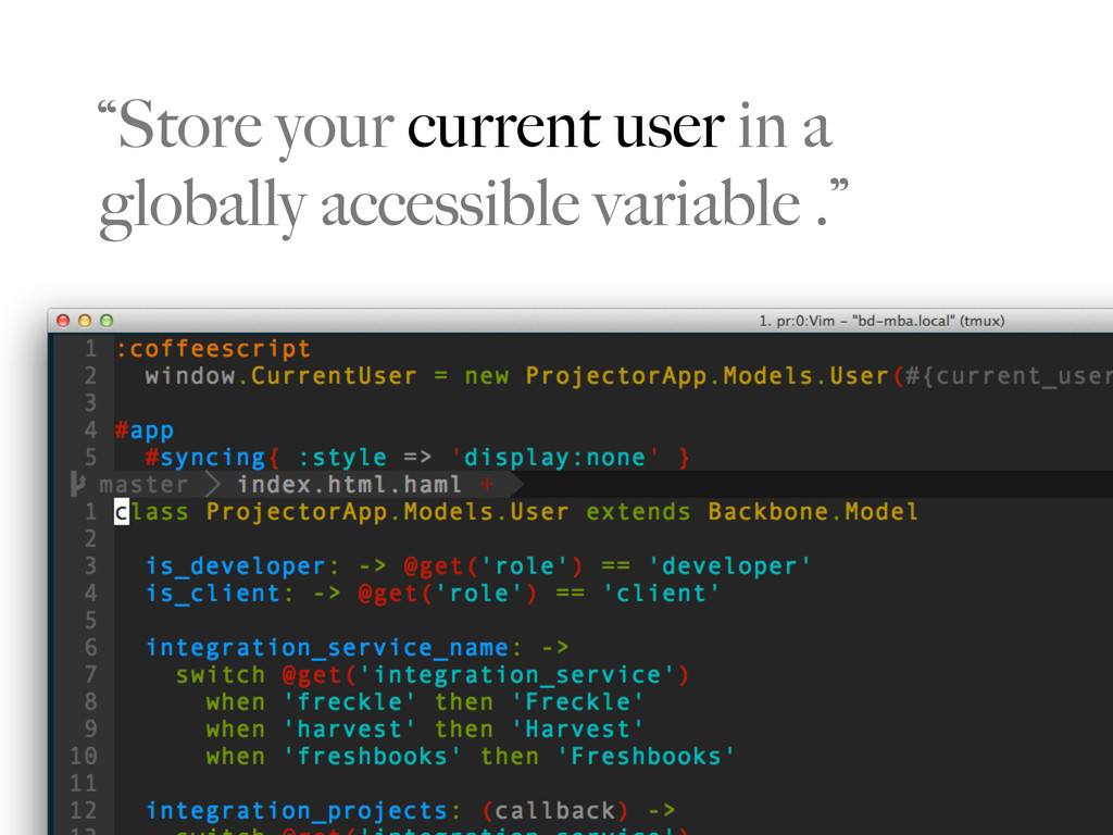 """""""Store your current user in a globally accessib..."""