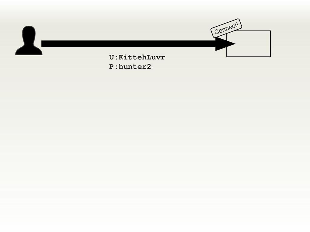 Connect! U:KittehLuvr P:hunter2
