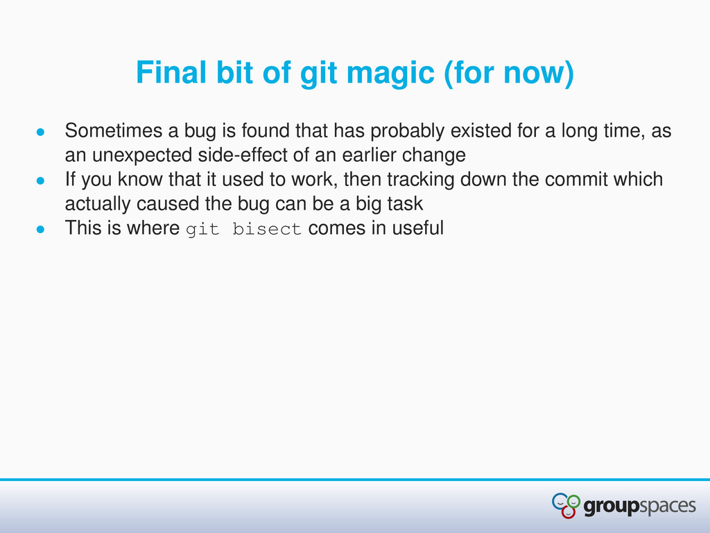 Final bit of git magic (for now) • Sometimes a ...