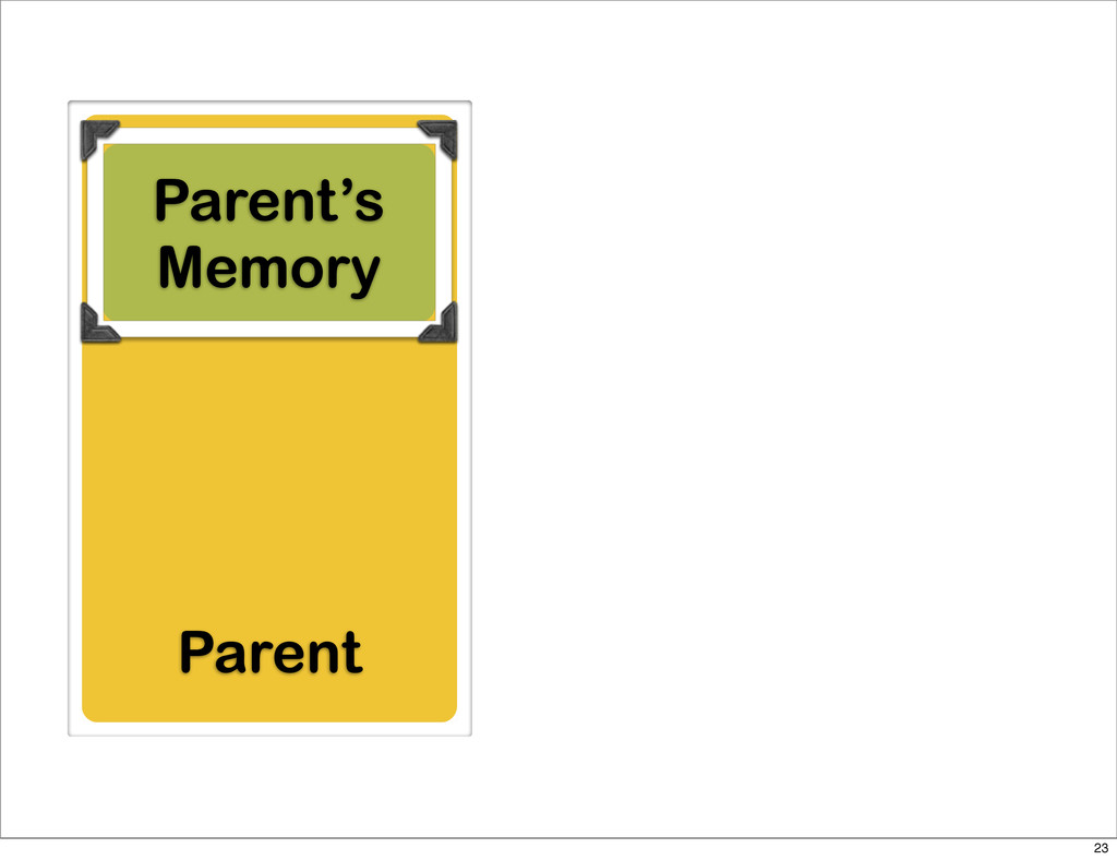 Parent Parent's Memory 23