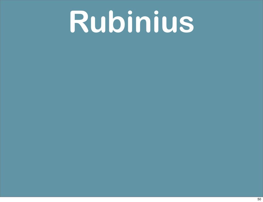 Rubinius 50