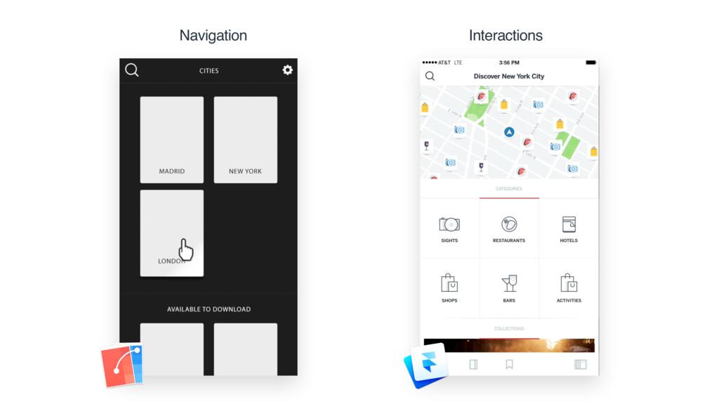 Navigation Interactions