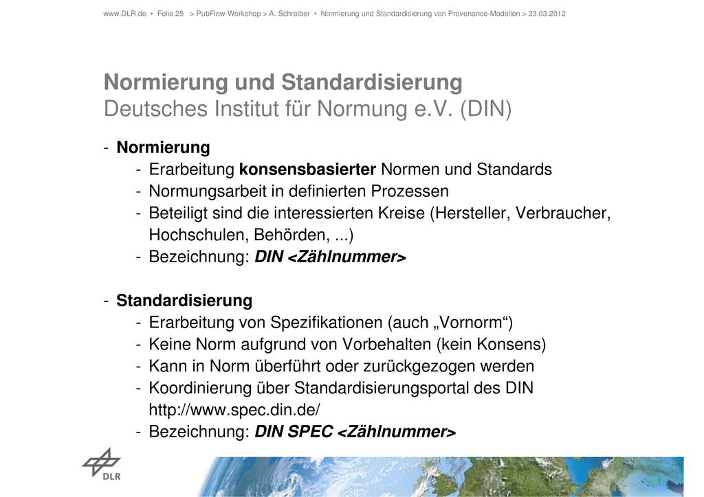 Normierung und Standardisierung Deutsches Insti...