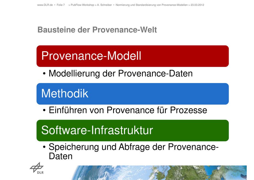 Bausteine der Provenance-Welt > PubFlow-Worksho...