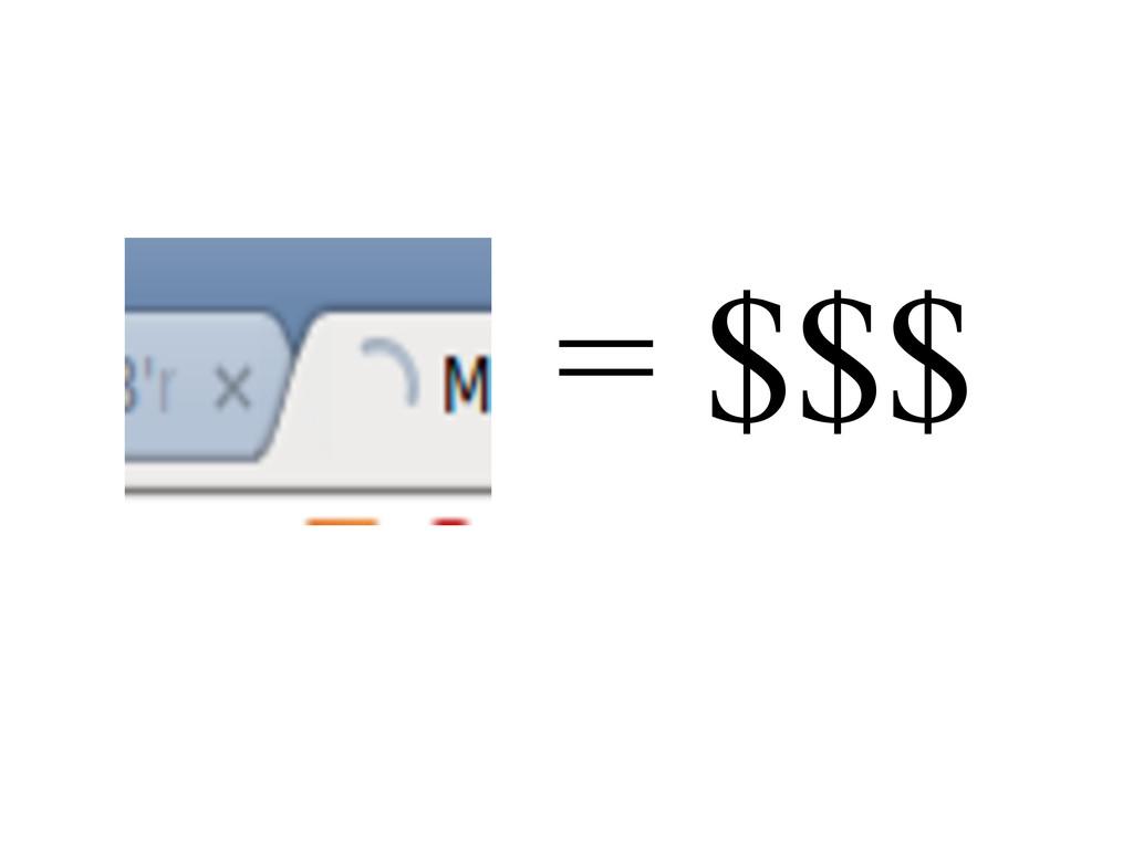 = $$$