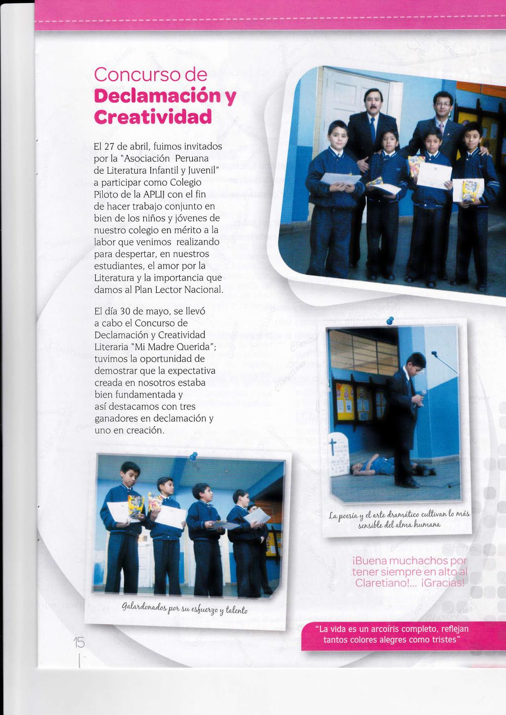 Concurso de Declamacióny Creatividad F,l27 de a...