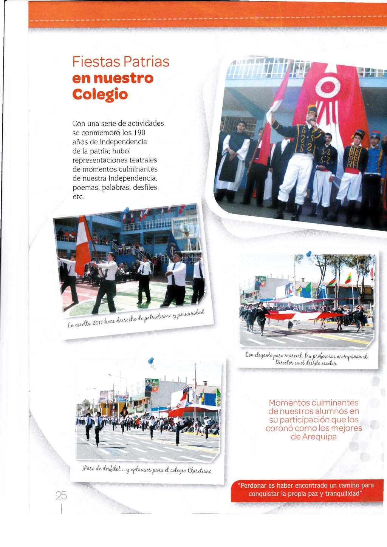 Fiestas Patrias en nuestro Colegio Con una seri...