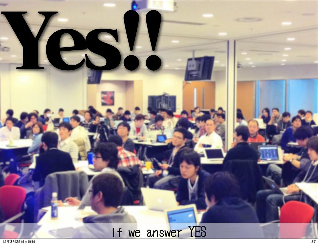 ςΩετ :FT if we answer YES 87 123݄25༵