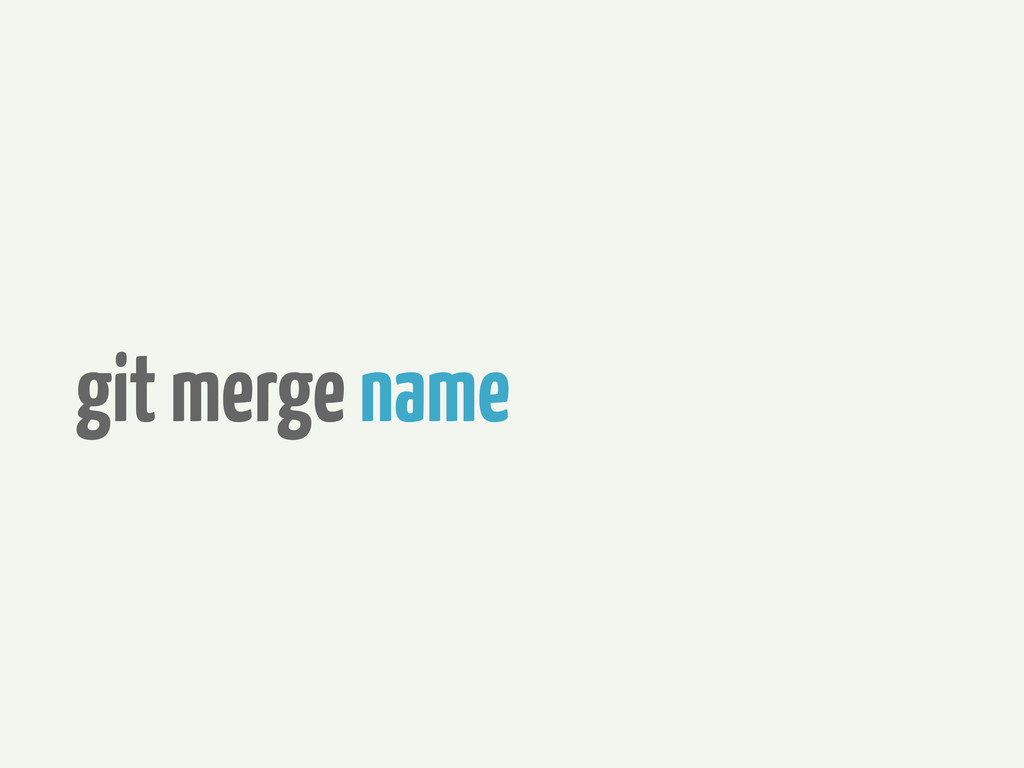 git merge name