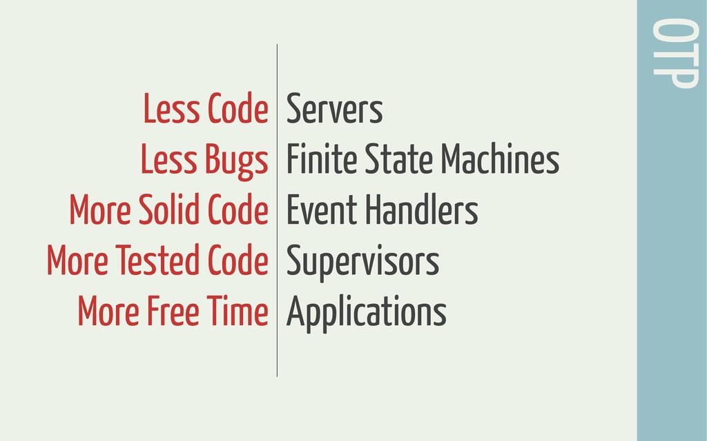 OTP Servers Finite State Machines Event Handler...