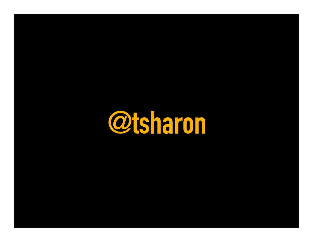 @tsharon