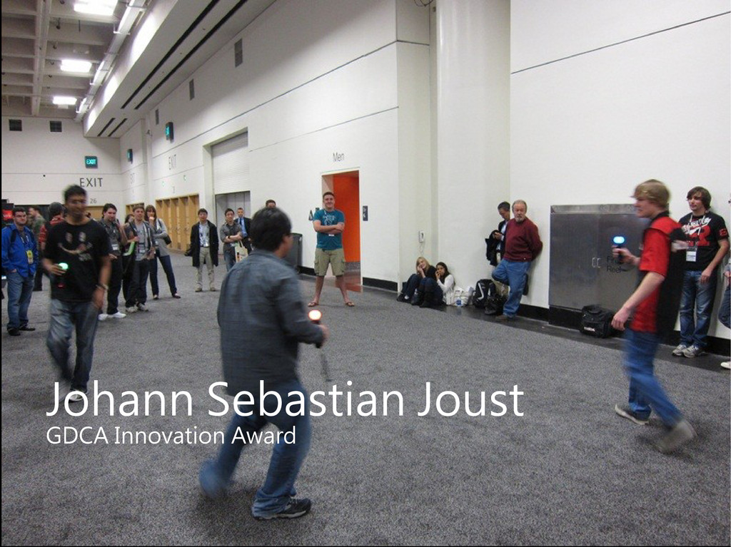 Johann Sebastian Joust GDCA Innovation Award
