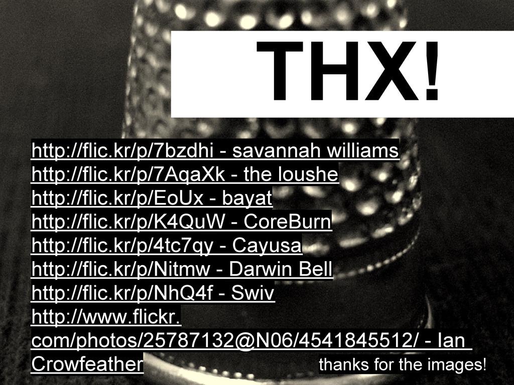 THX! http://flic.kr/p/7bzdhi - savannah william...