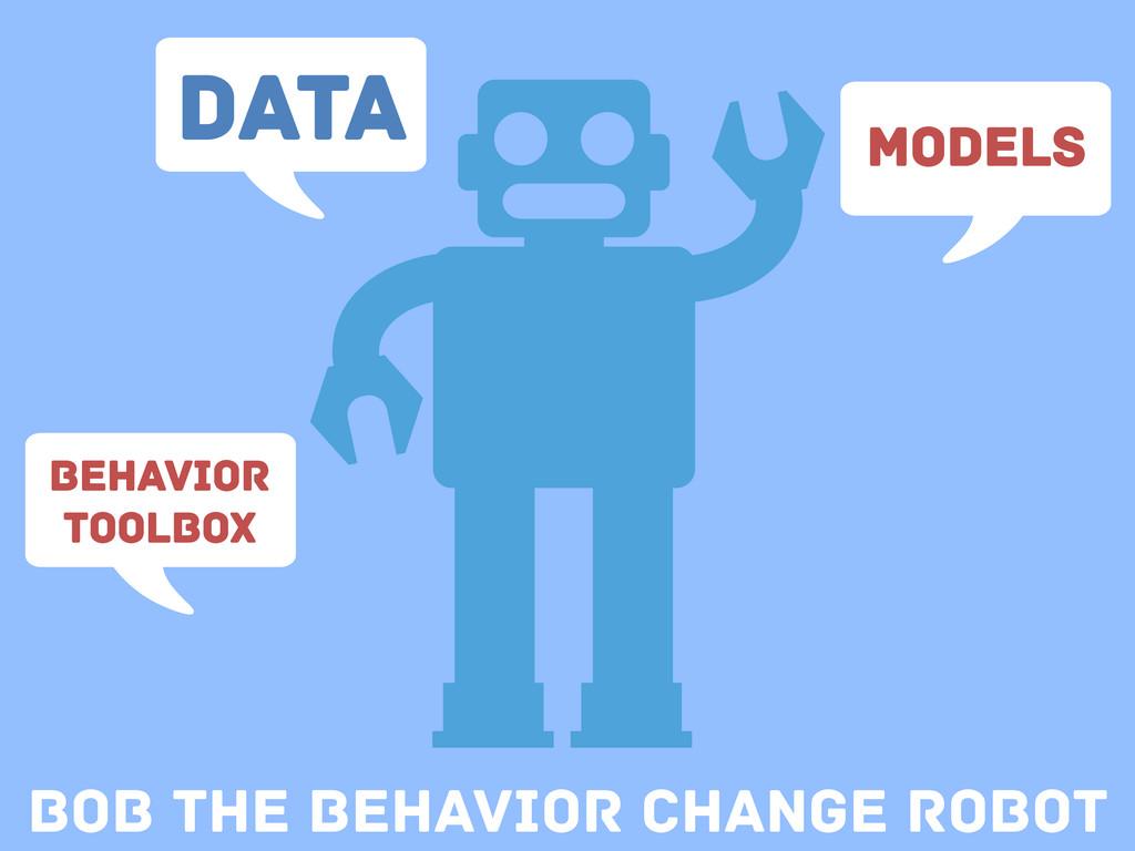 Bob the Behavior change Robot Data Models Behav...