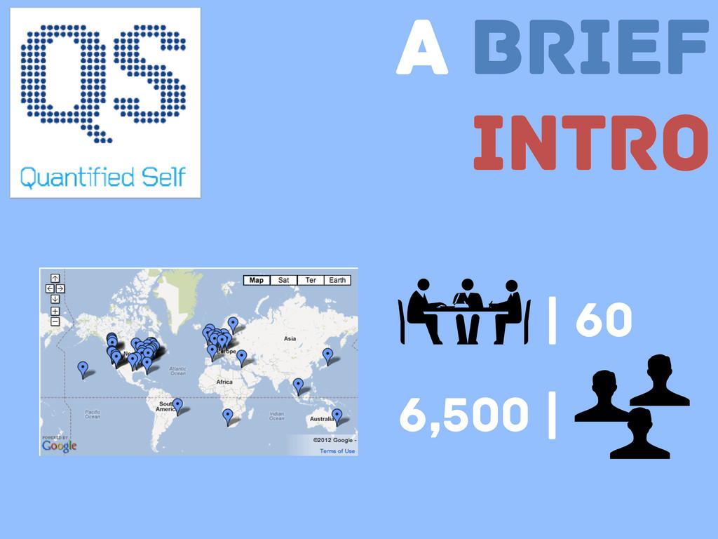 A Brief Intro | 60 6,500 |