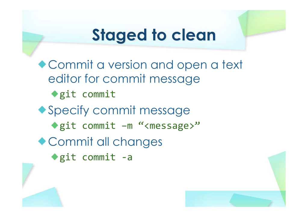 Staged to clean Commit a version and open a tex...