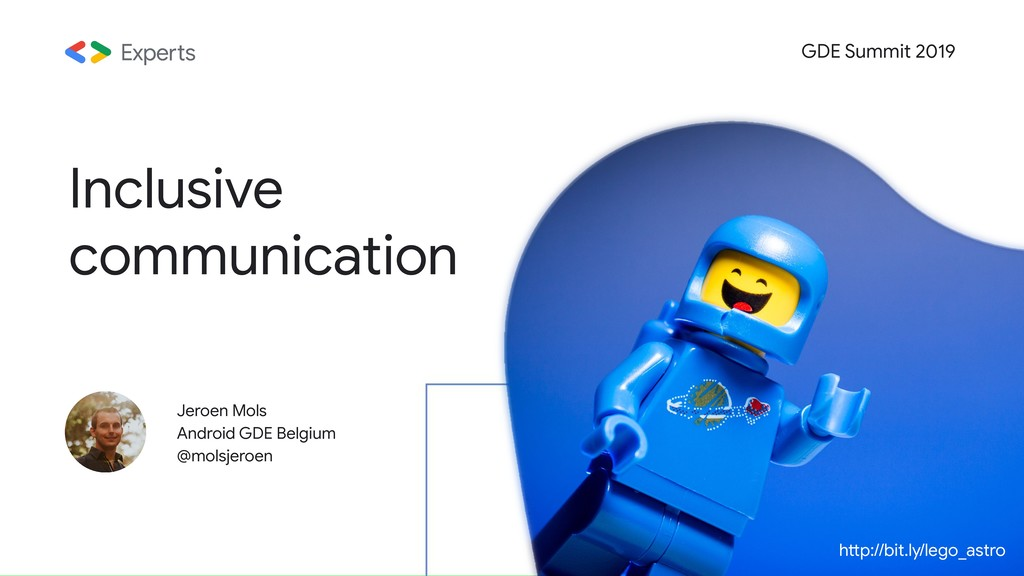 Jeroen Mols Android GDE Belgium @molsjeroen GDE...