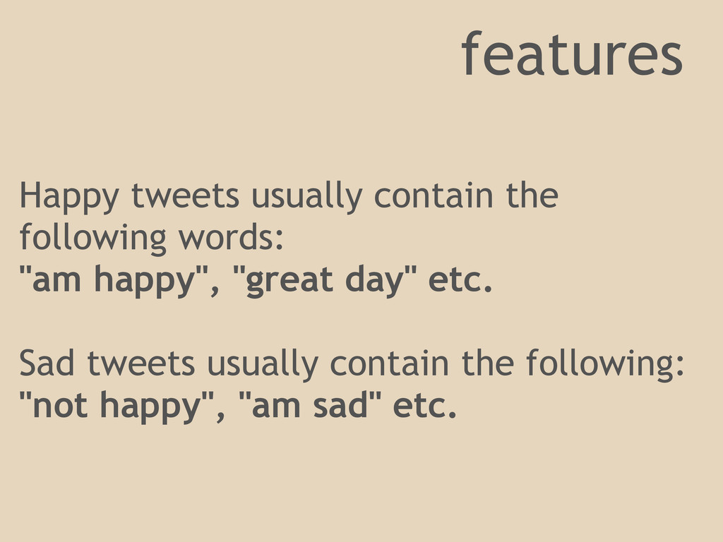 Happy tweets usually contain the following word...