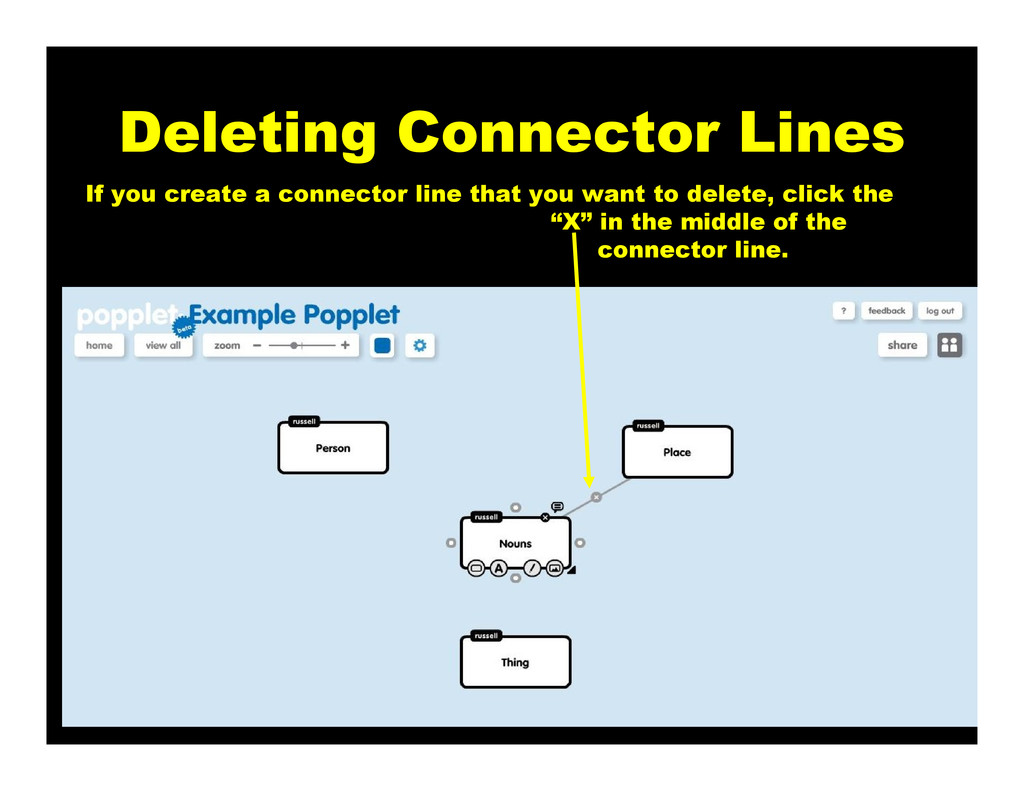 Deleting Connector Lines If you create a connec...