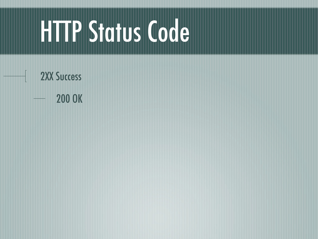 HTTP Status Code 2XX Success 200 OK