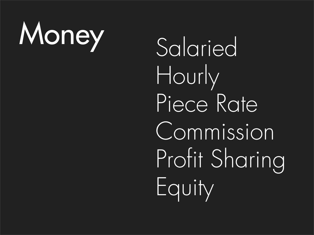 Salaried Hourly Piece Rate Commission Profit Sh...