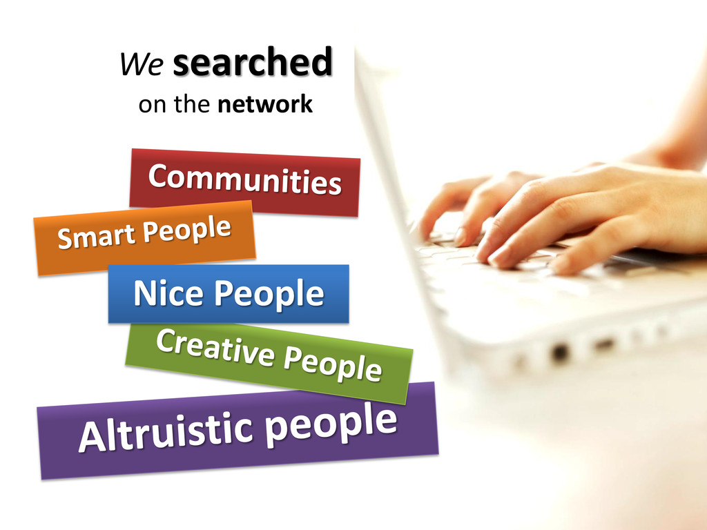 We searched on the network Nice People