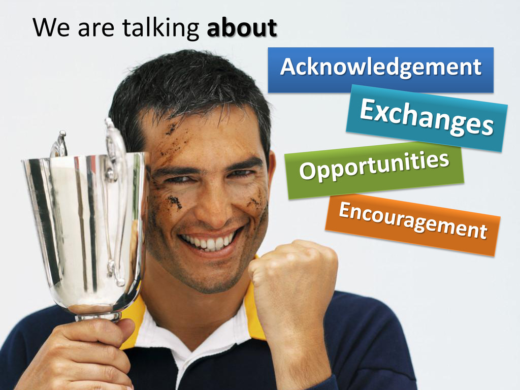 We are talking about Acknowledgement