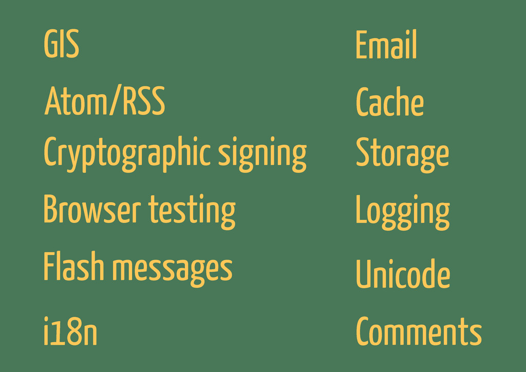 GIS Cryptographic signing Browser testing i18n ...