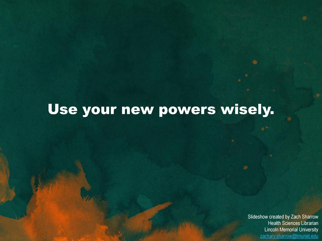 Slideshow created by Zach Sharrow Health Scienc...