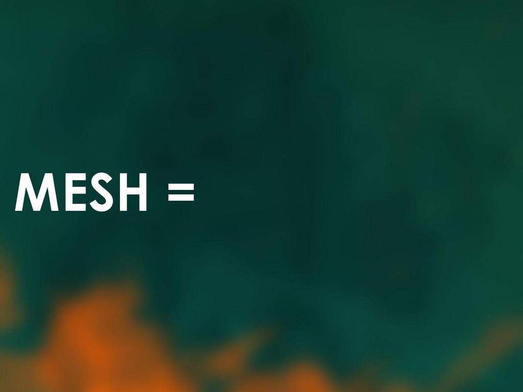 MESH =