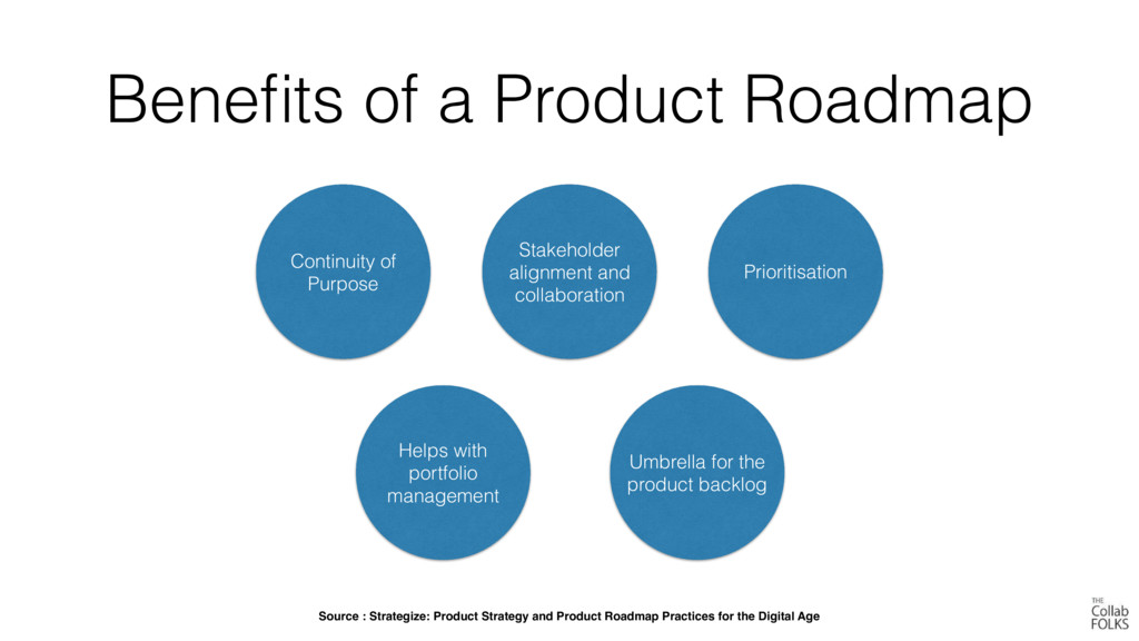 Benefits of a Product Roadmap Continuity of Purp...