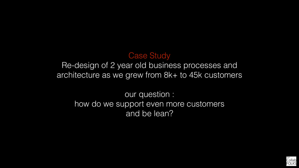 Case Study Re-design of 2 year old business pro...