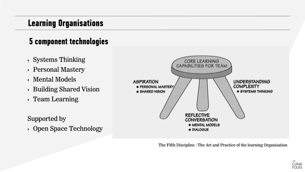 Learning Organisations The Fifth Discipline : T...