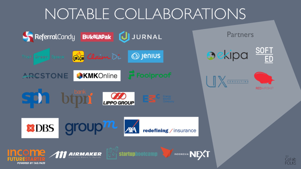 ZA NOTABLE COLLABORATIONS Partners