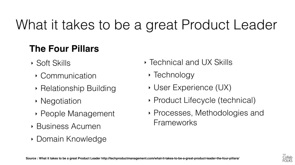 What it takes to be a great Product Leader The ...