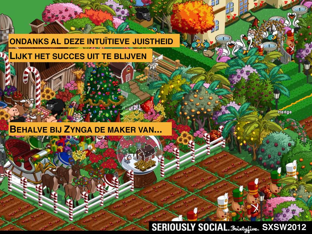 SXSW2012 ONDANKS AL DEZE INTUÏTIEVE JUISTHEID L...
