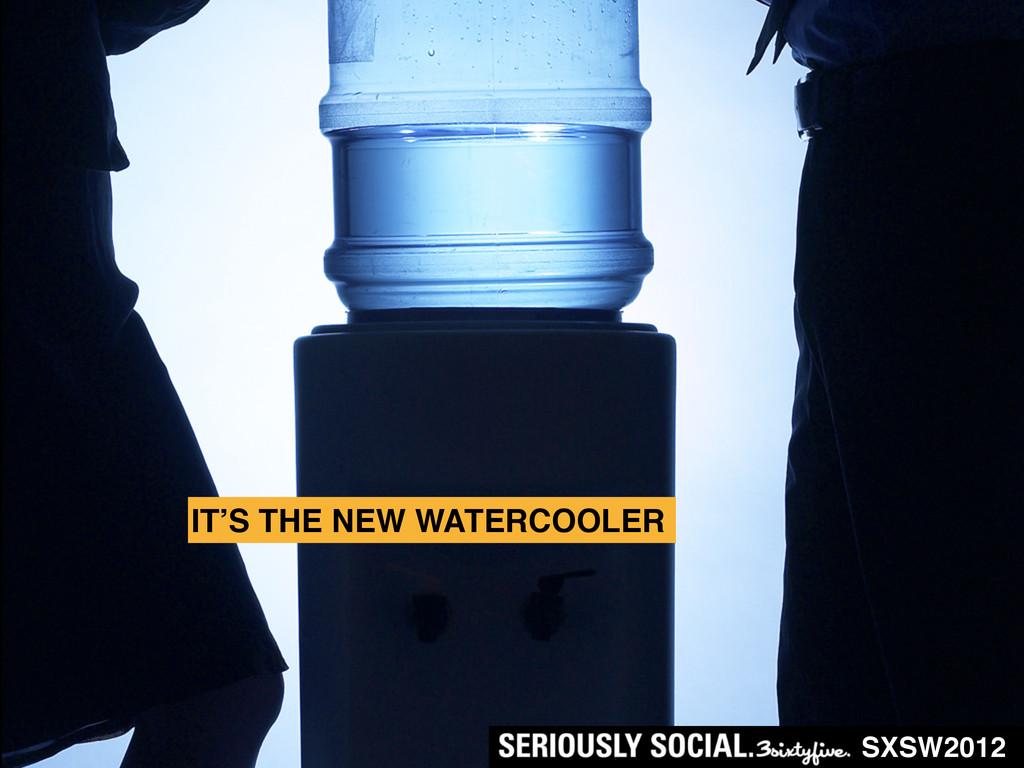 SXSW2012 IT'S THE NEW WATERCOOLER