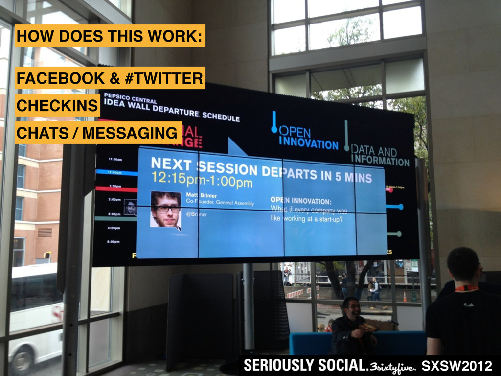 SXSW2012 HOW DOES THIS WORK: FACEBOOK & #TWITTE...