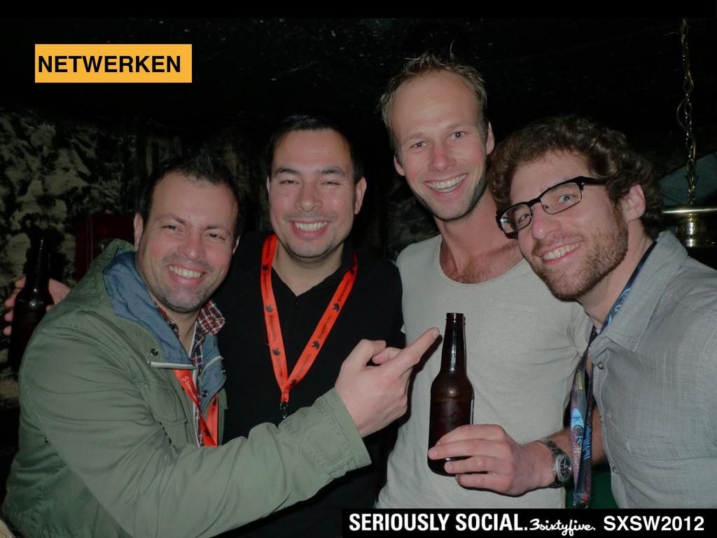 NETWERKEN SXSW2012