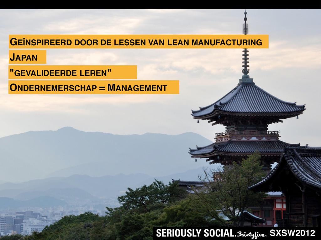 SXSW2012 ONDERNEMERSCHAP = MANAGEMENT GEÏNSPIRE...
