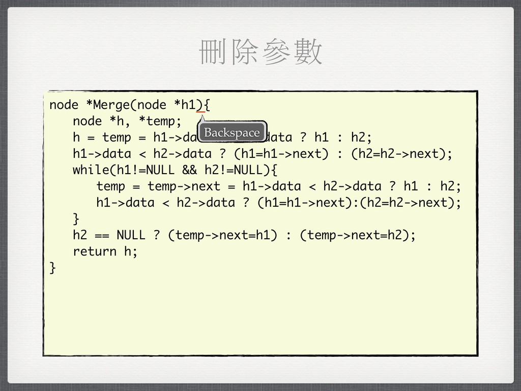 мৰਞᅰ node *Merge(node *h1){ node *h, *temp; h =...