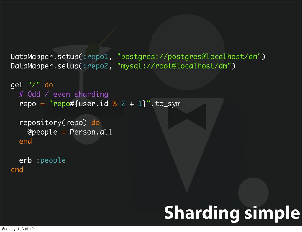 "DataMapper.setup(:repo1, ""postgres://postgres@l..."
